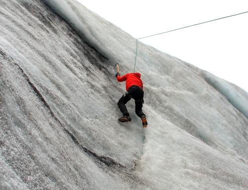 Ice Climbing in Sólheimajökull Glacier, Iceland
