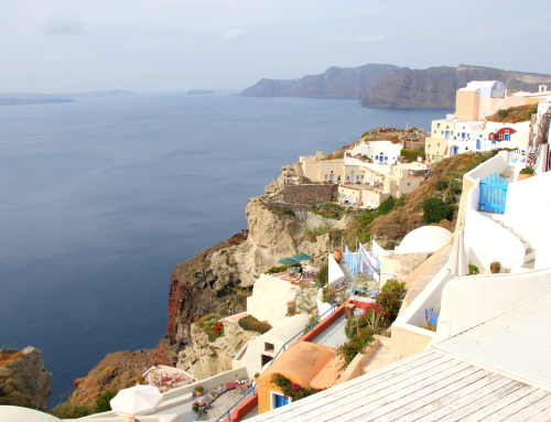 The Fiery Active Volcanoes Created A Serene Island of Santorini, Greece