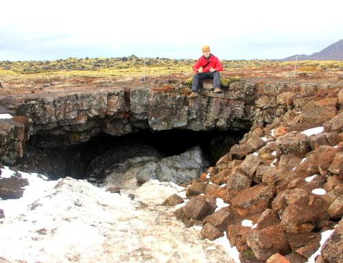 The Underworld Caving at Leiðarendi, Iceland