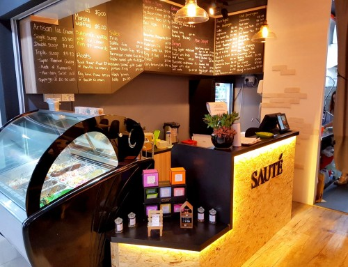 [Western Vegetarian] Saute Singapore @ Bugis