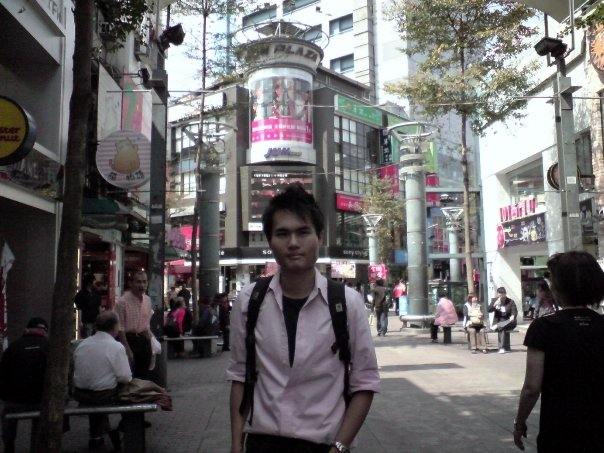 Shopping at Taipei, Taiwan