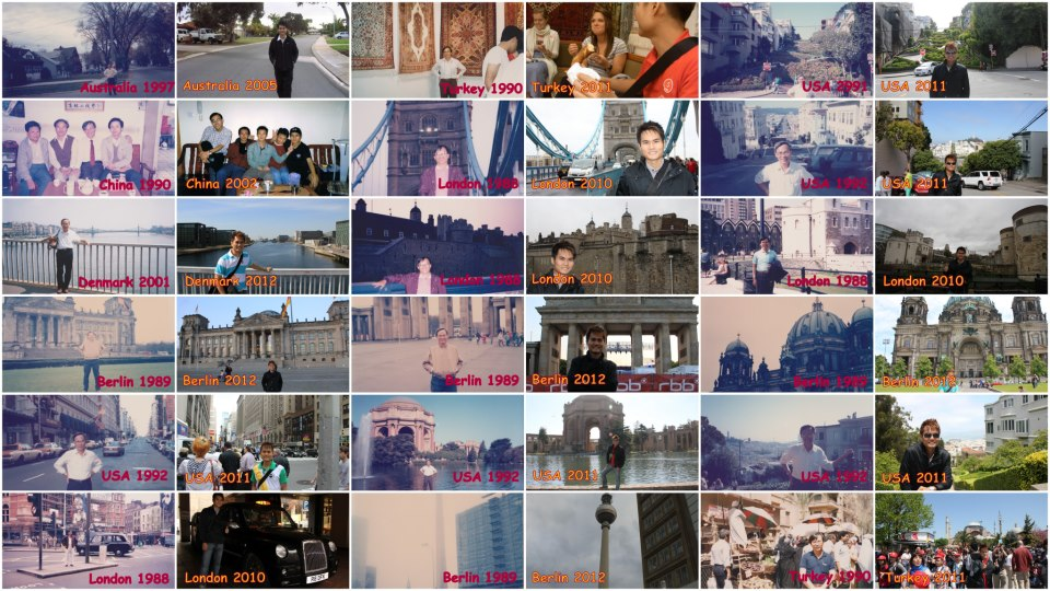 Similarity of our Travels