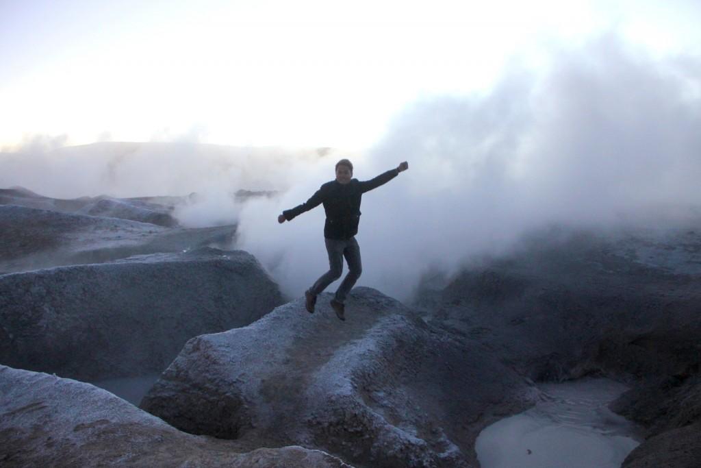 Geysir, Bolivia