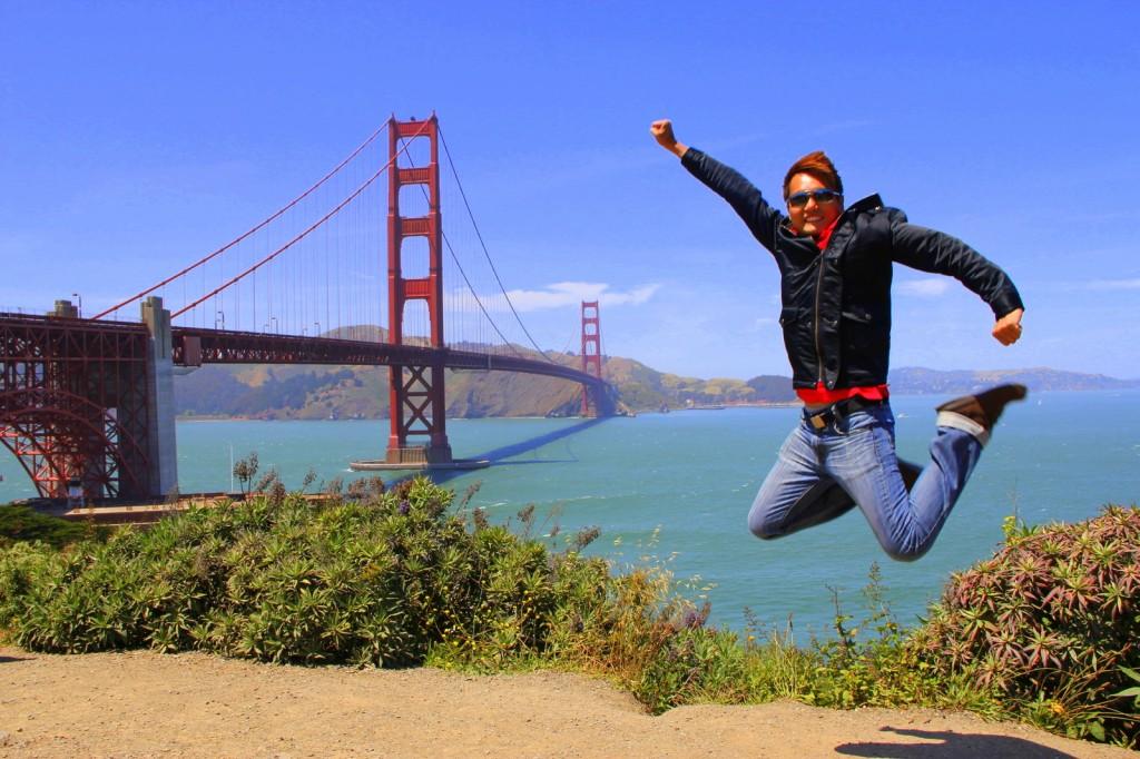 KJS @ Golden Gate Bridge, USA