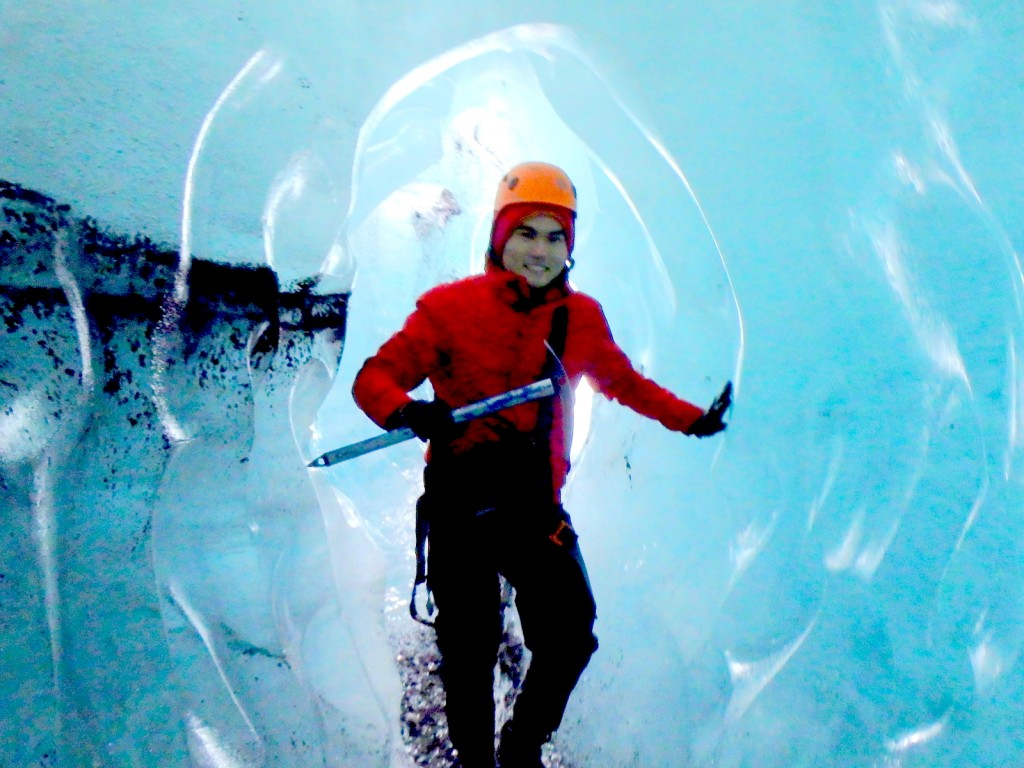 Ice Caving in Iceland