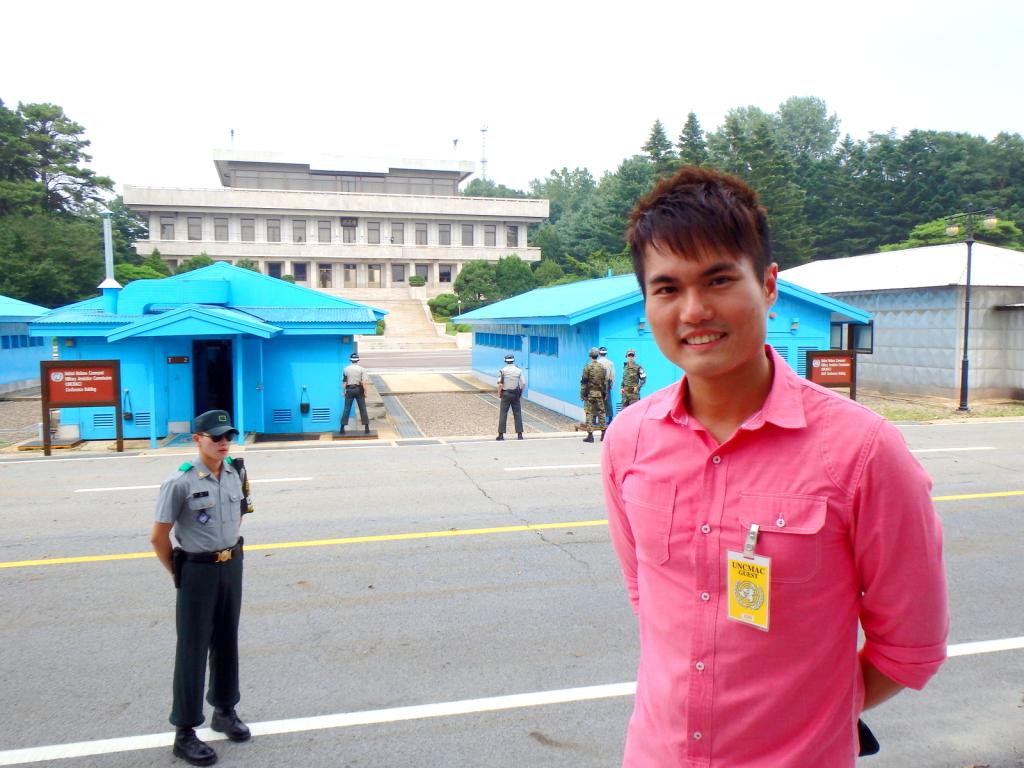 Intense feeling at the border between North and South Korea
