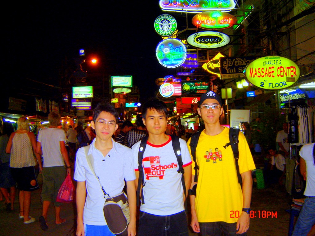 Night strolling at Patpong Night Street, Bangkok, Thailand