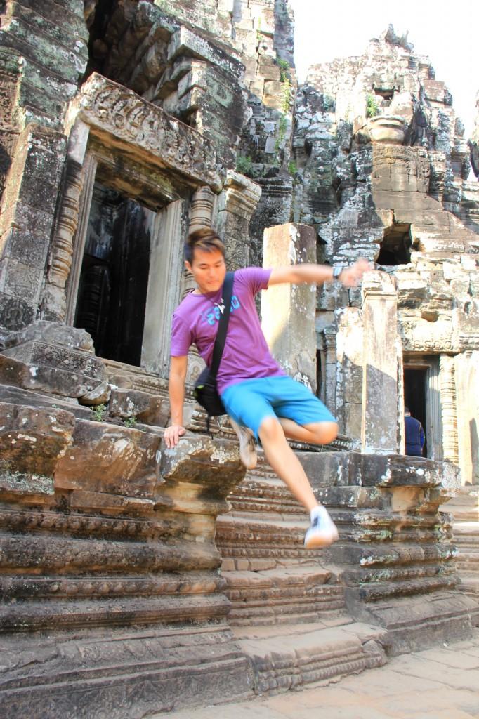 The Tomb Raider JS @ Siem Reap, Cambodia