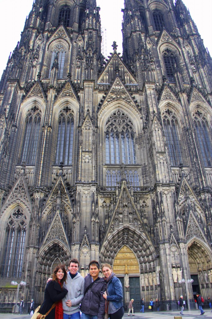 Challenging to take this photo at Cologne, Germany