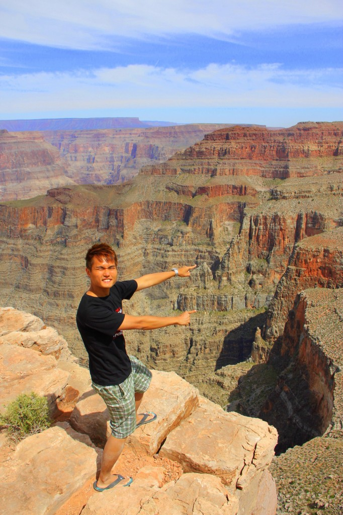 Please DO NOT TRY THIS in Grand Canyon!