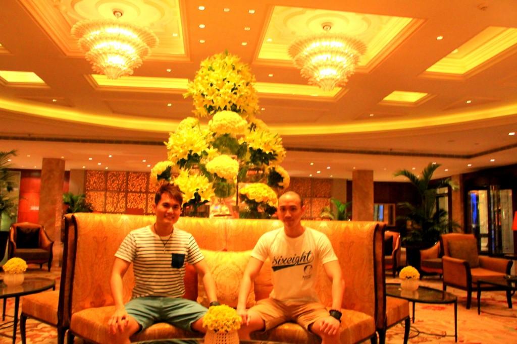 Interior of Taj Mahal Hotel