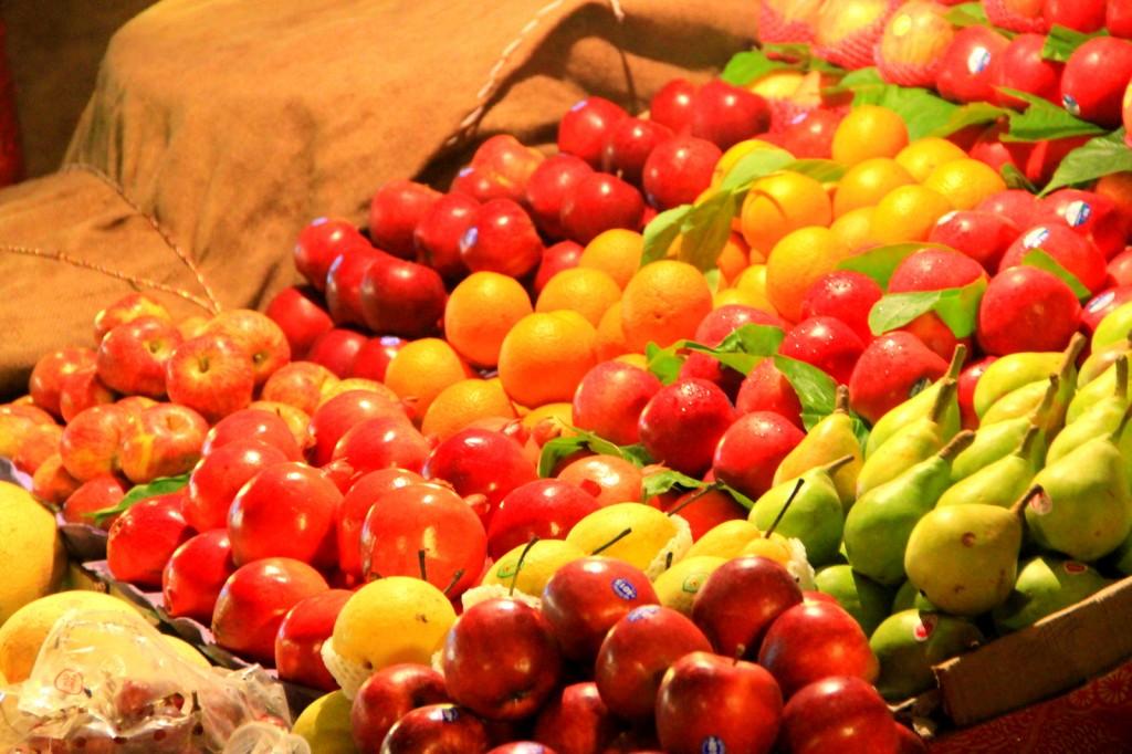Vegetables & Fruits Market
