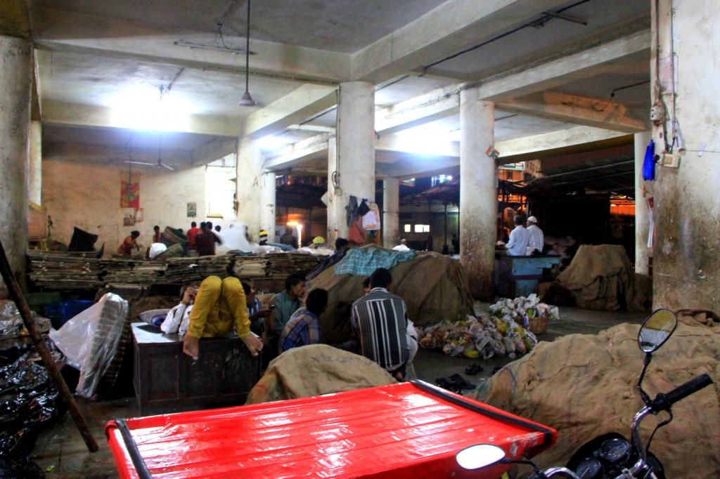 The Slums in Mumbai