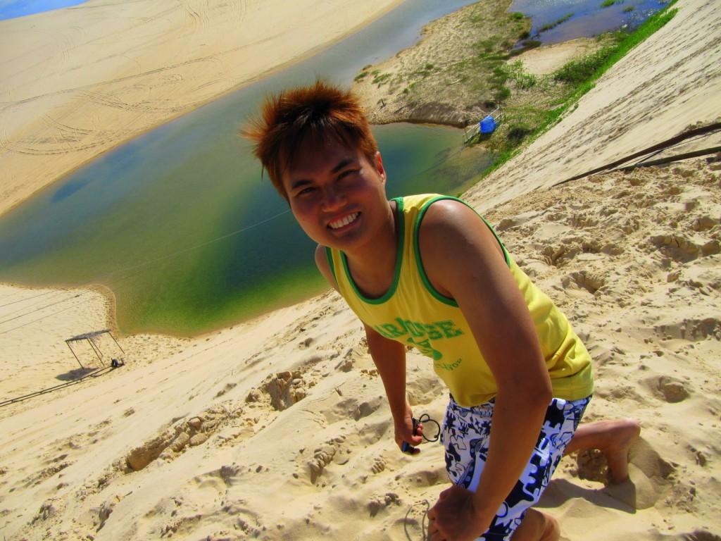 Sand Sliding at Brazil