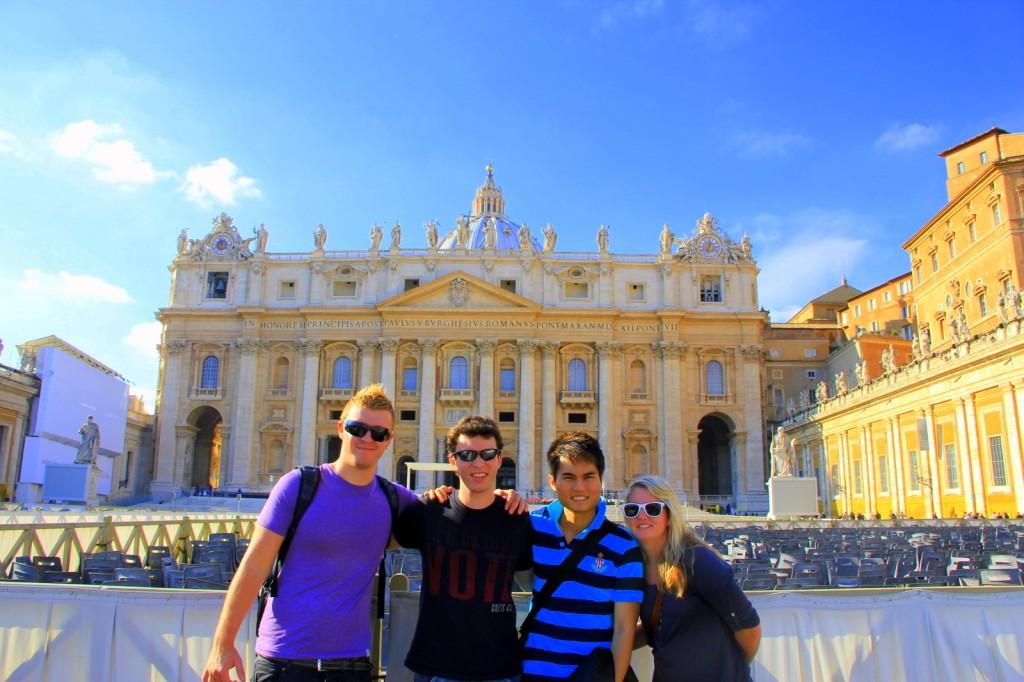 Wow at Vatican City