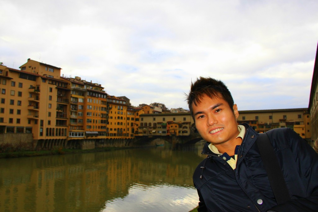 Feeling artistic in Florence, Italy