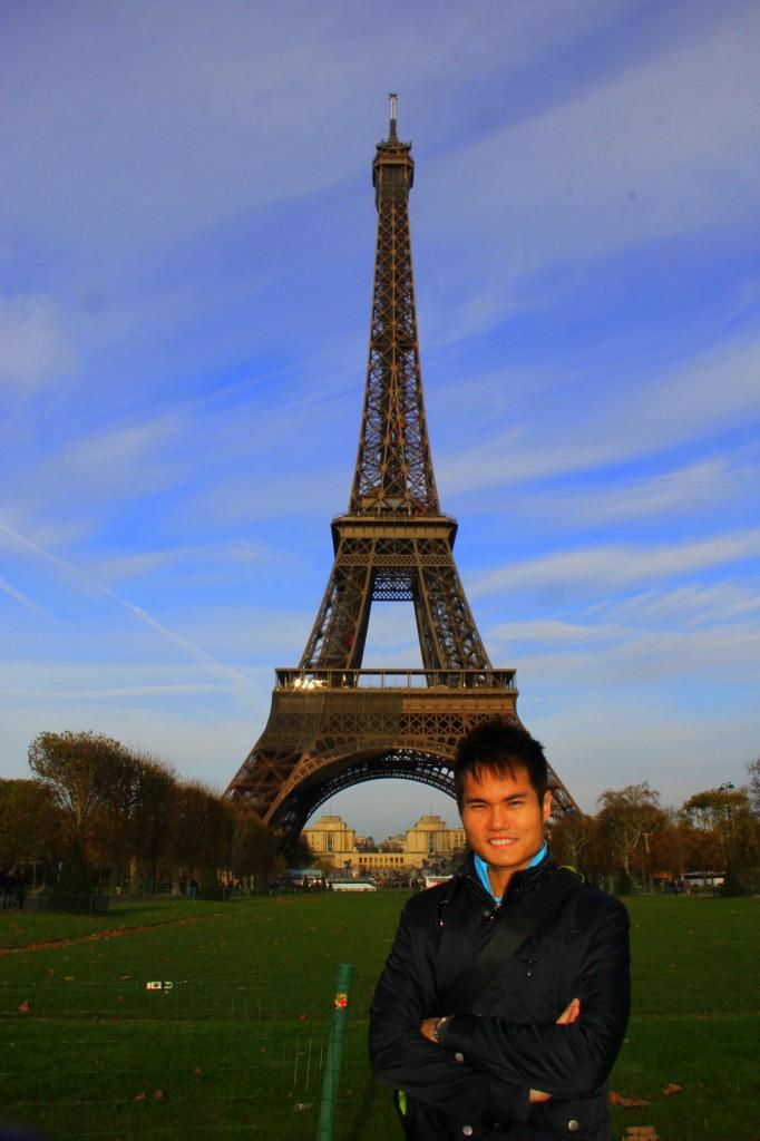 The world famous Eiffel Tower, Paris, France