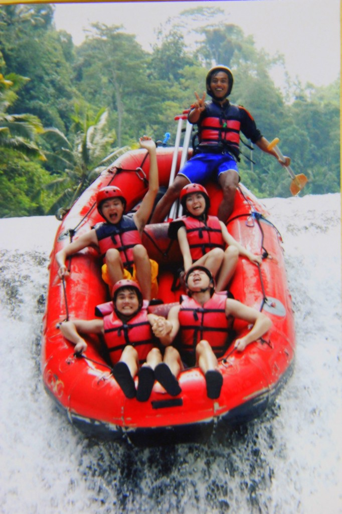 Ahhhhh.... Water Rafting in Indonesia