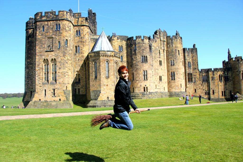 KJS @ Alnwick Castle, England