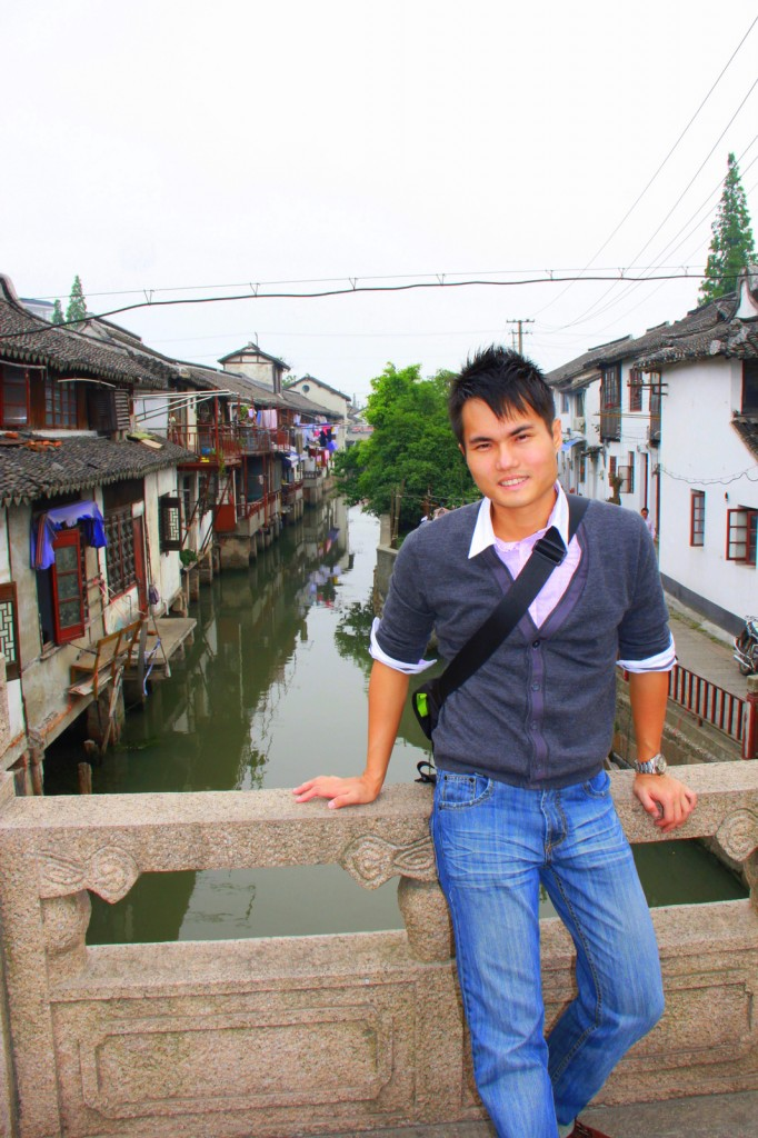 At the Venice of the East, Zhu Jia Jiao, China