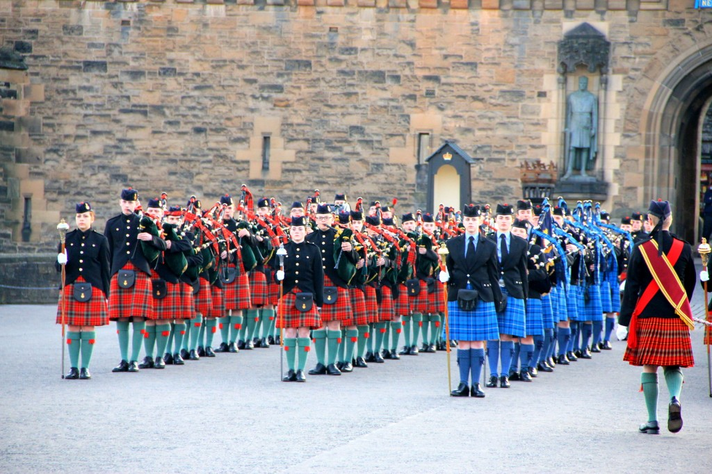Scottish Band at Edinburgh Castle