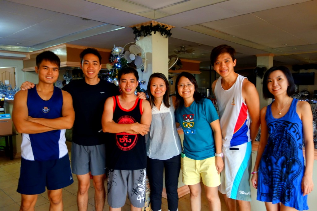 With Brother Ryan, Wilson, Melisa, Lingjia, Melano & Huiling (Singaporean) in Boracay, Philippines