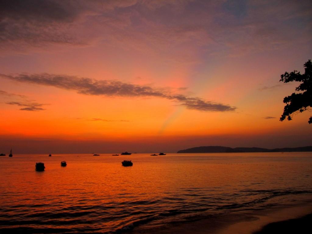 Gorgeous Sunset in Krabi