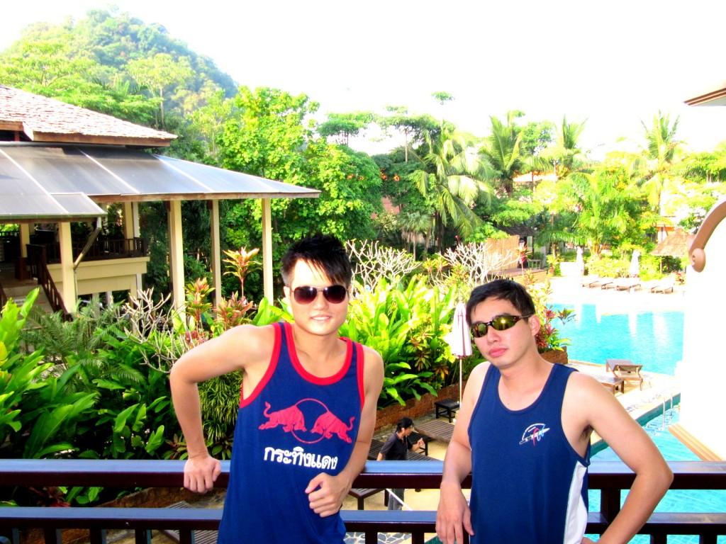 Krabi La Playa Room Balcony