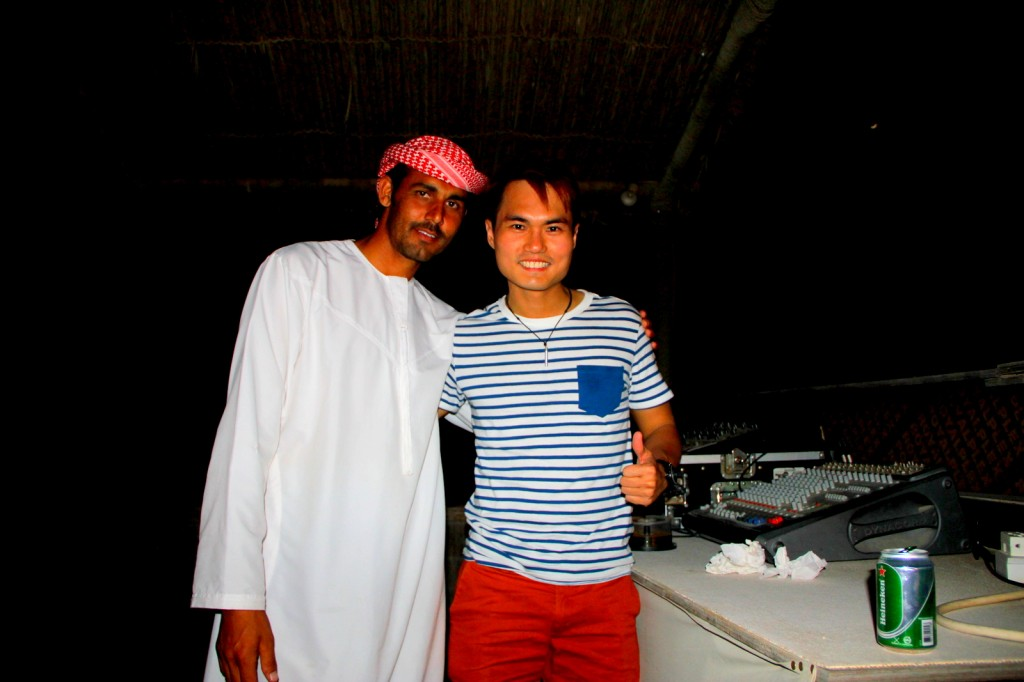 With Khalid (UAE) in Dubai