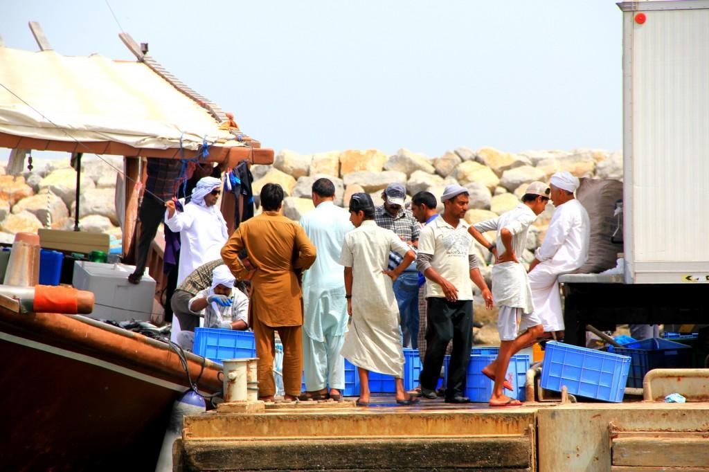 Business Negotiations at Khasab Port