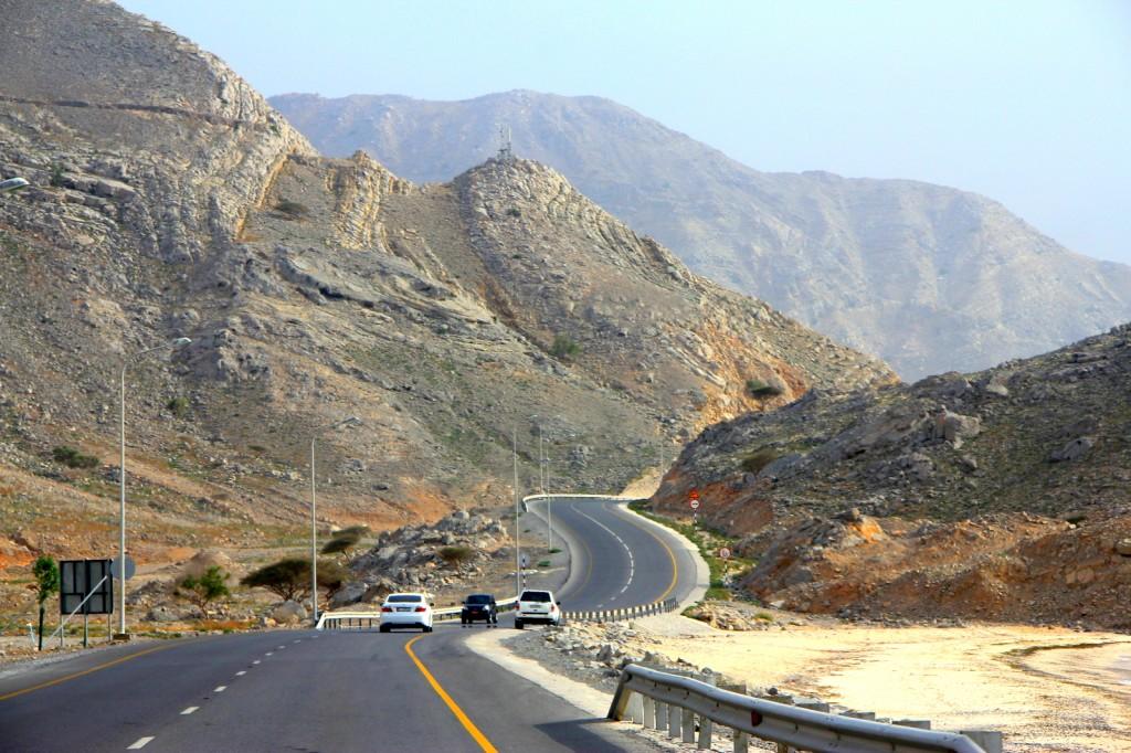 Coastal Drive to Khasab Port
