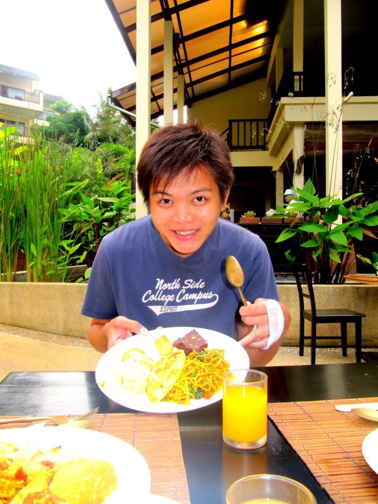 Our Vegetarian Breakfast