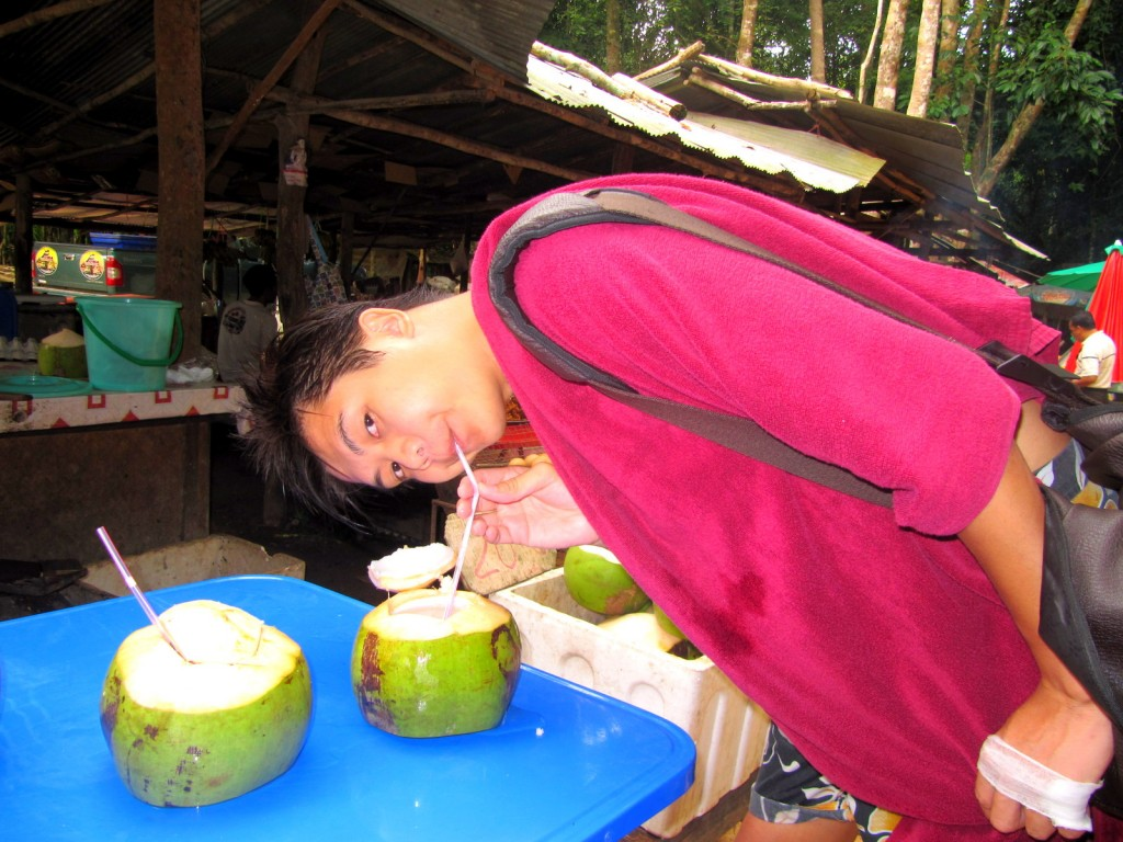Coconut Juice Stall