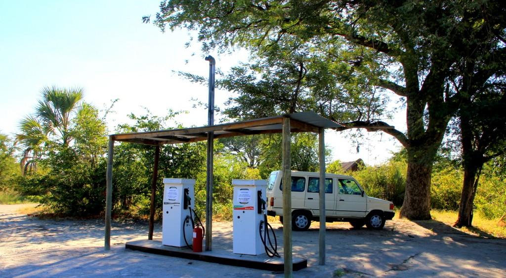 Petrol Kiosk in Botswana