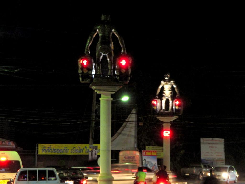 Cavemen Traffic Lights