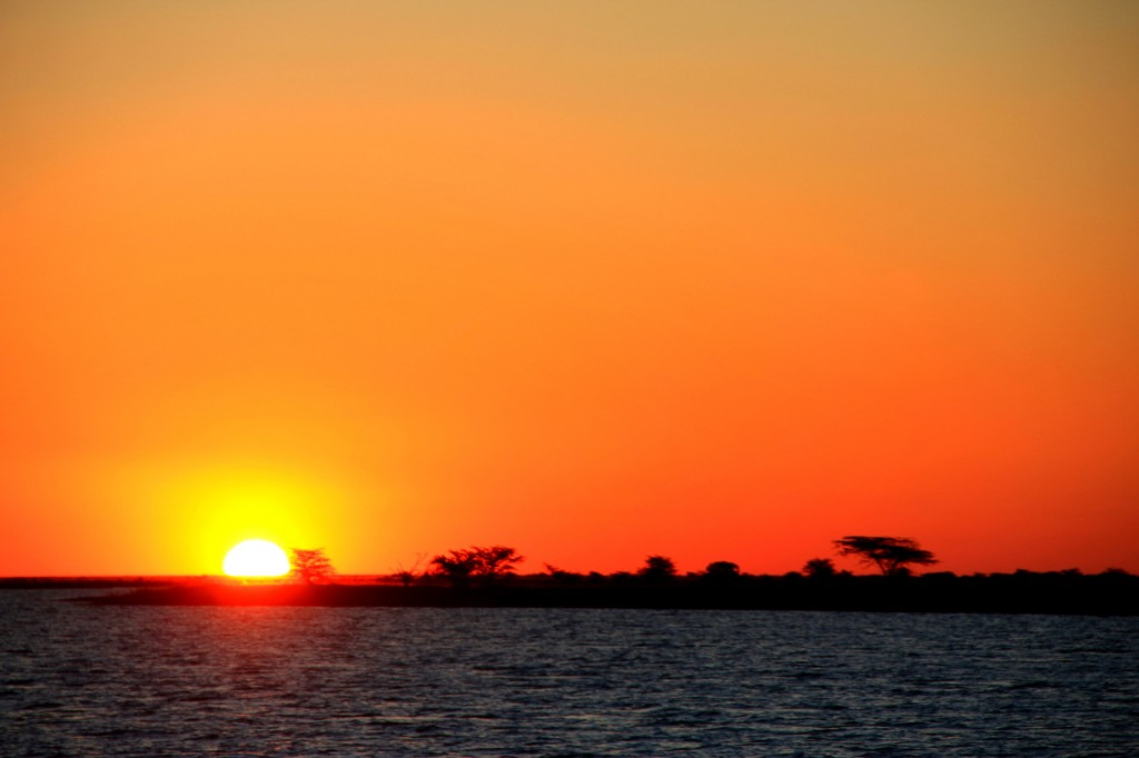 Gorgeous Sunet in Botswana