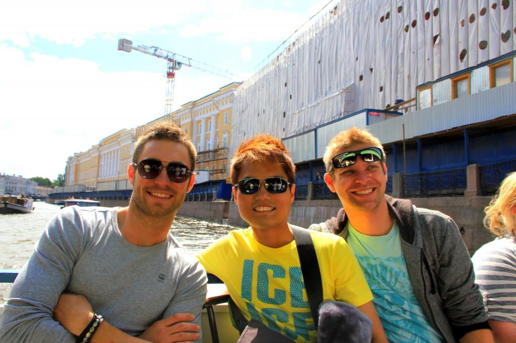 With my Aussie friends