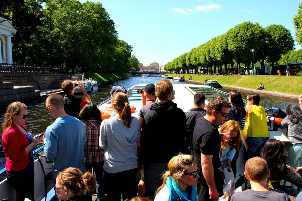 Beautiful Canal of St Petersburg