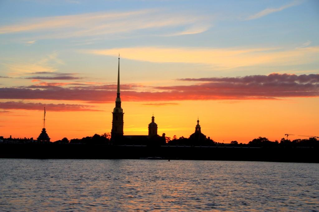Midnight Sun aka White Night of St Petersburg, Russia