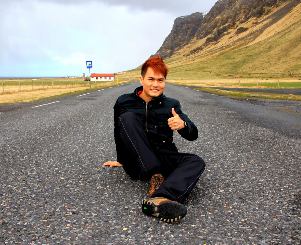 Owning a road at Iceland