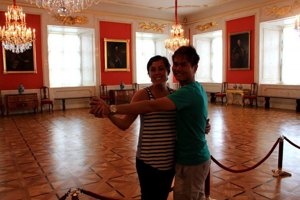 With Kristin (American Teacher) in Warsaw, Poland