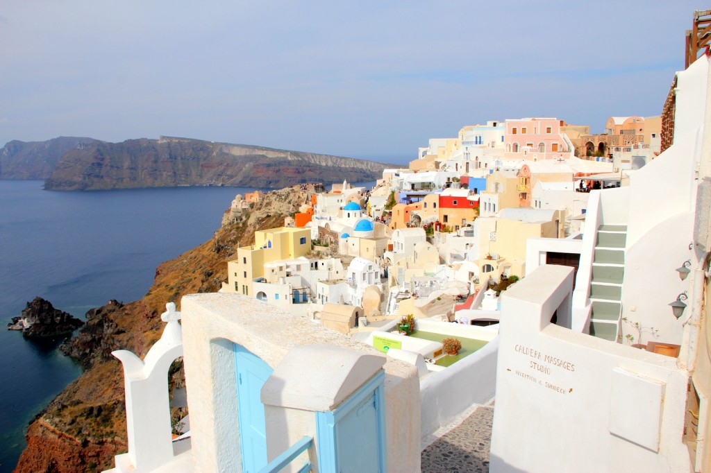 A typical Greek house in Santorini