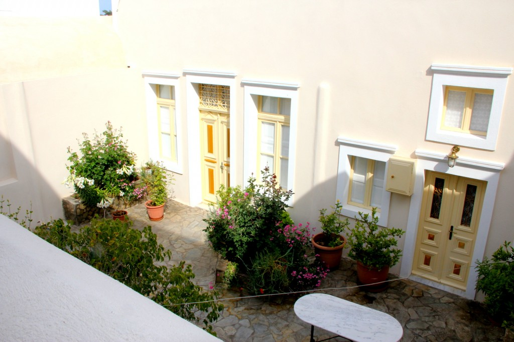 Gorgeous courtyard
