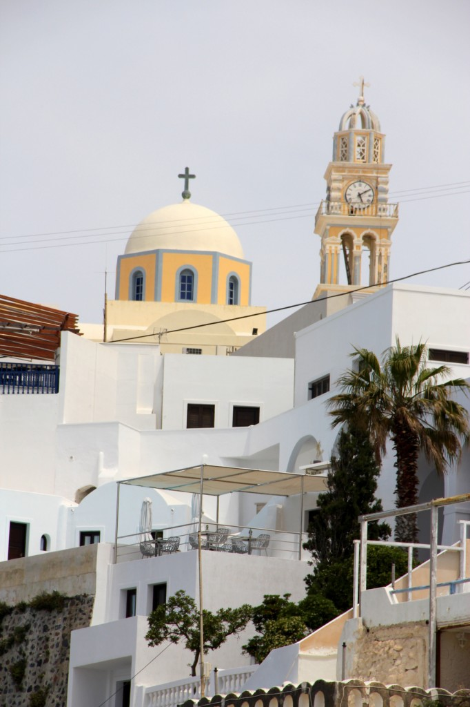 Fira, capital of Santorini
