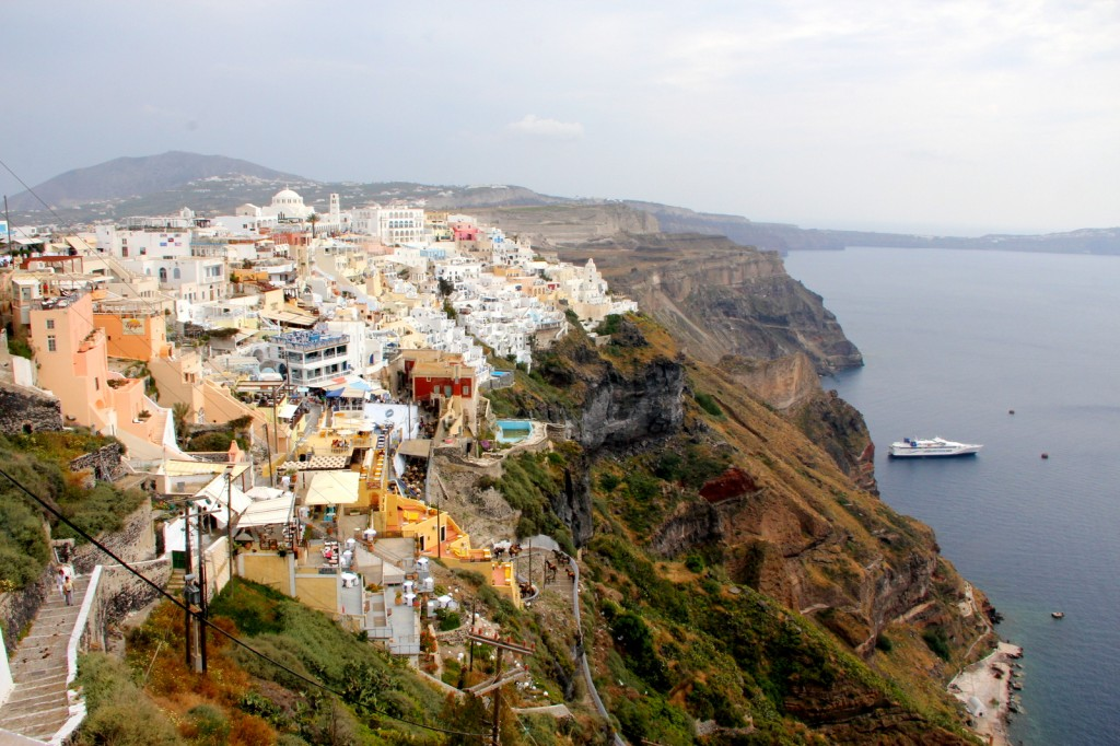 View of Fira, Santorini