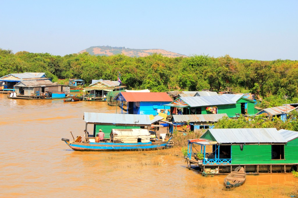 Typical Household at Floating Village