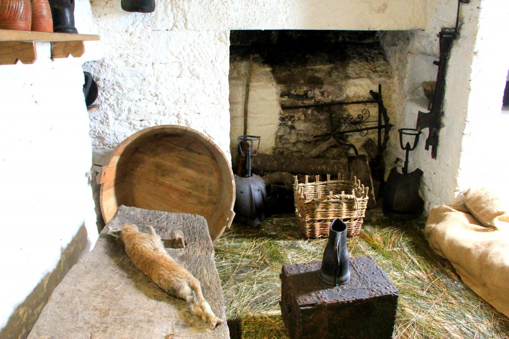 Kitchen in Bunratty Castle