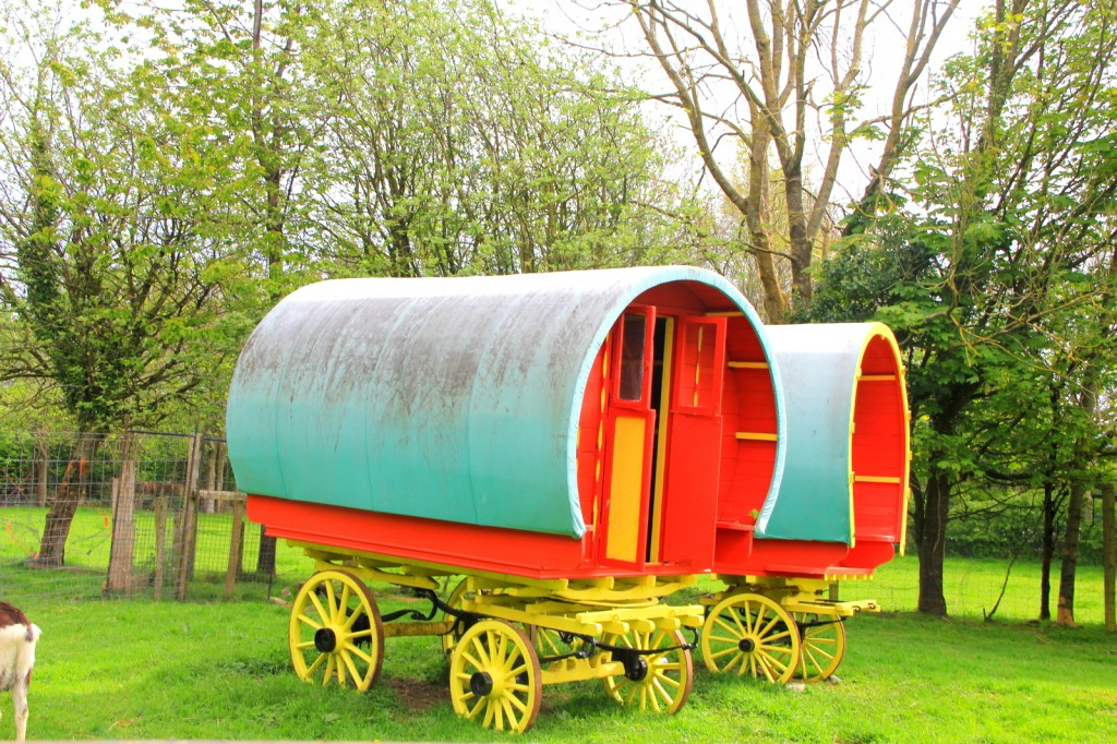 Cute carriages at Folk Village
