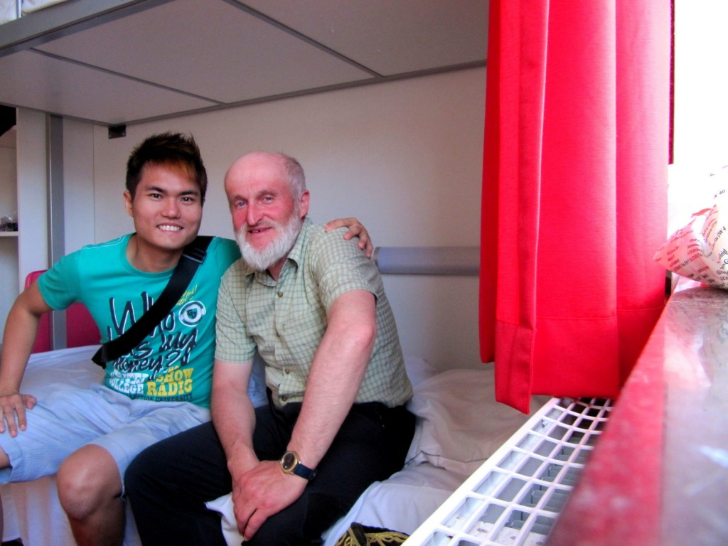 The oldest backpacker I ever met from Austria