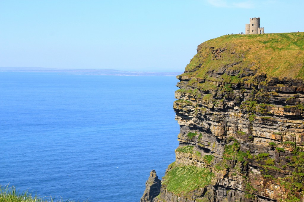 The height of Cliffs of Moher